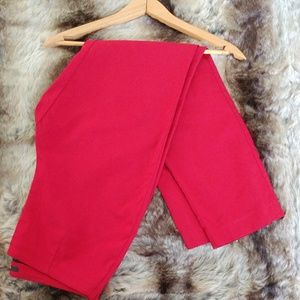 Style &Co. Red Pants